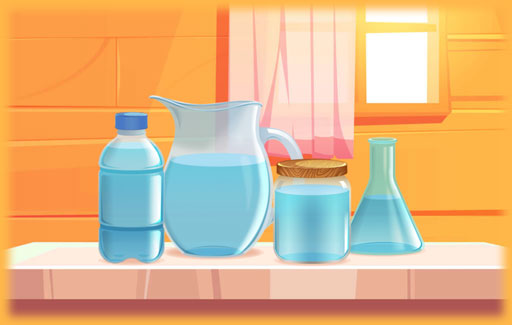 Infer, from observations of liquids in containers of different shapes and sizes, that only the following conclusions can be drawn from these observations: that a liquid occupies the space and that it takes on the shape of the container it is in.