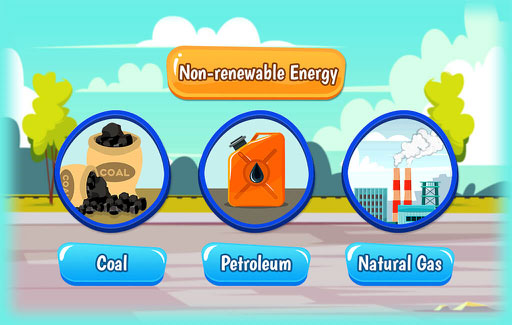 Identify a source of renewable energy.
