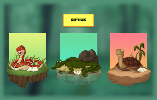 State the common physical characteristics of reptiles