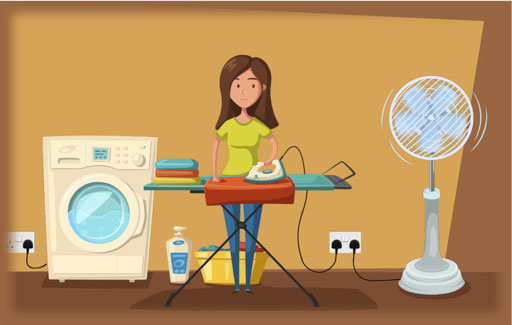 Identify ways of using electricity safely.