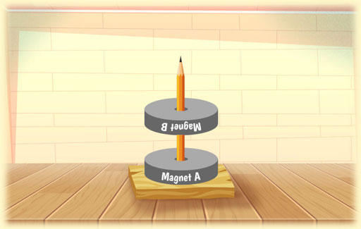 Infer from observations of two magnets interacting with each other to Suggest the properties of magnets and magnetic force at work.